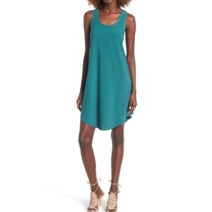 Leith tank dress green berry large